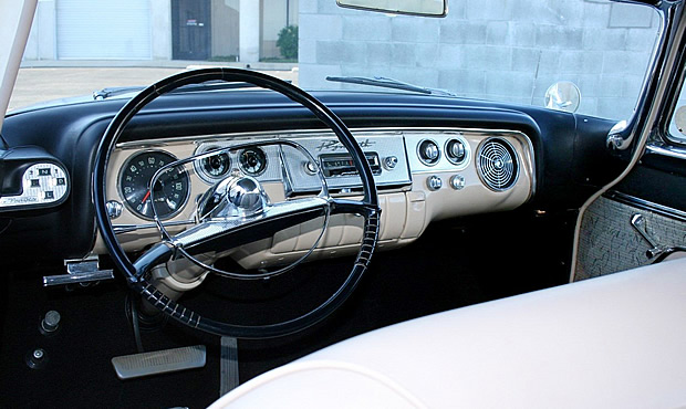 56 Plymouth Fury Instrument Panel