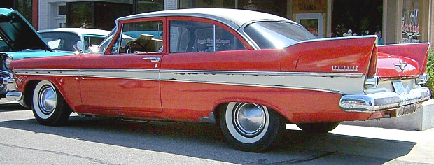 1957 Belvedere Side / Rear