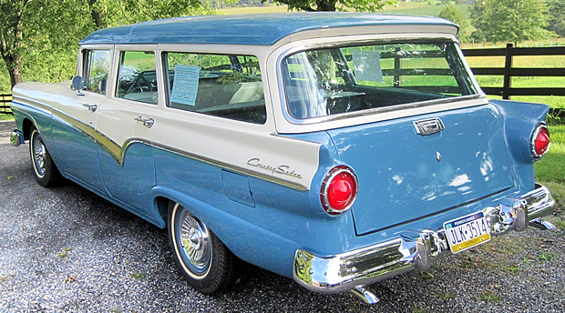 57 Ford Country Sedan Station Wagon