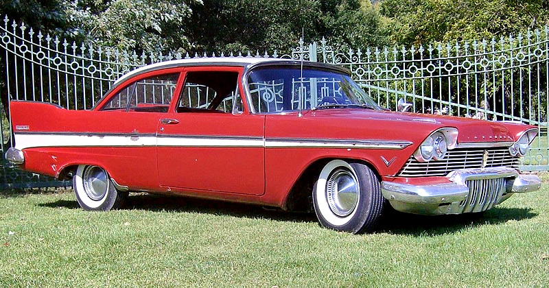 1957 Plymouth Belvedere Club Sedan