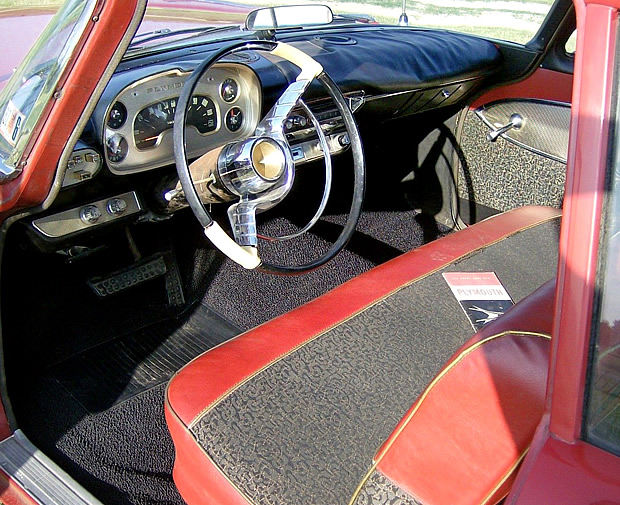 57 Plymouth Belvedere Interior