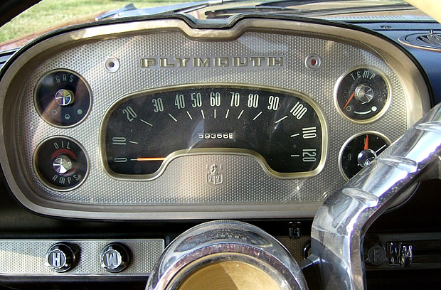 1957 Plymouth Instrument Panel
