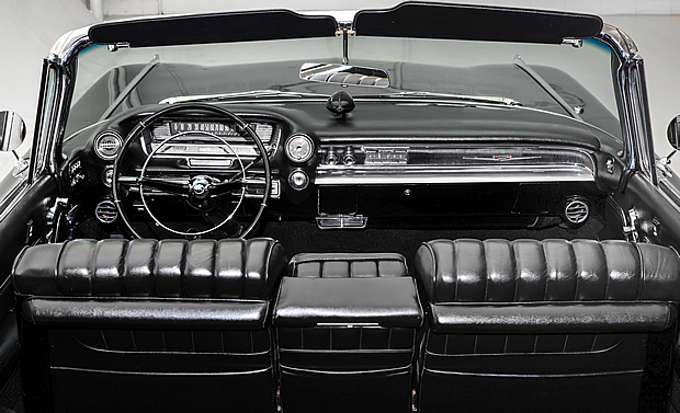 1959 Caddy Convertible Interior