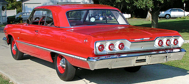 1963 Chevy Impala Rear