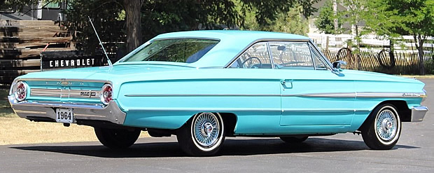 1964 Galaxie 500 Rear View