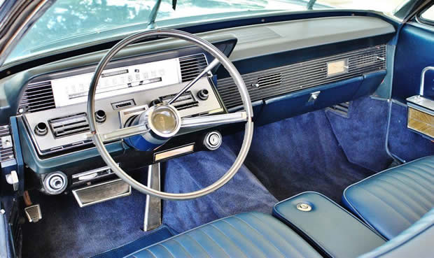 1966 Lincoln Continental Interior
