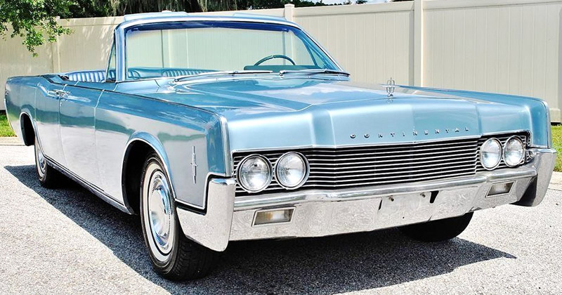 1966 Lincoln Continental Convertible - DOORS!
