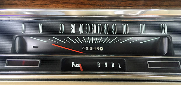 1967 Chevy Chevelle Odometer