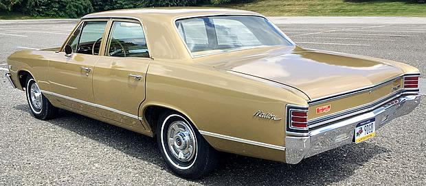 2017 Chevy Malibu Interior >> 1967 Chevrolet Malibu - 42,000 miles - Grenada Gold - Fawn Interior