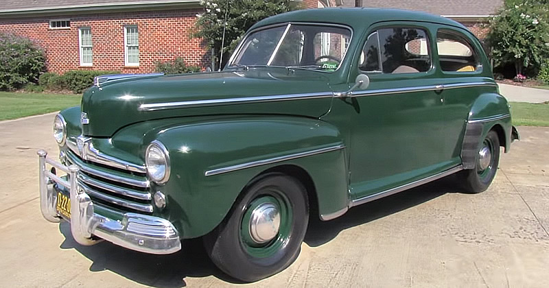 1948 Ford Super Deluxe Tudor