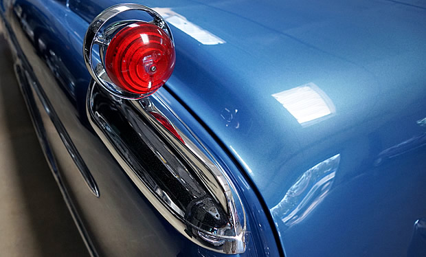 1955 Imperial Gunsight taillights