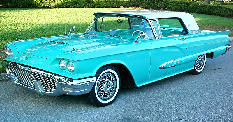 1959 Ford Thunderbird 55 000 Mile Survivor Car Indian
