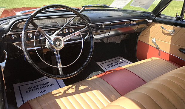 1961 Ford Starliner - interior