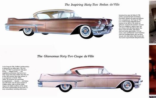 1957 Cadillac sales brochure - series 62