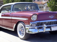 1956 Chevy Bel Air Sport Sedan