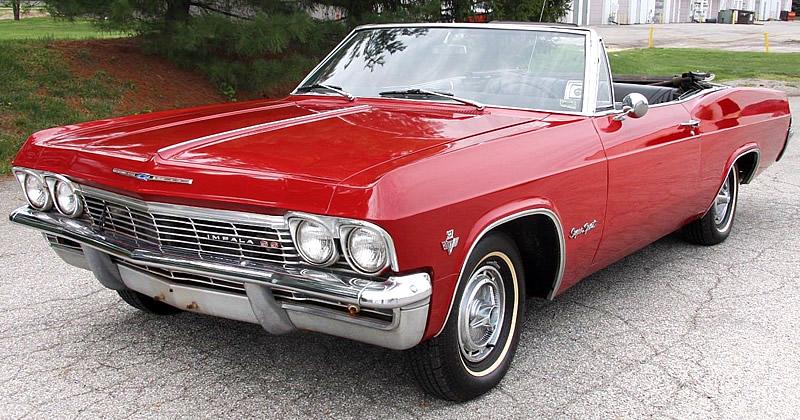 1965 Chevrolet Impala Ss Convertible 327 V8