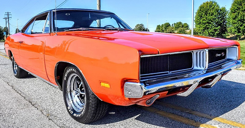 1969 Dodge Charger R T Numbers Matching Original
