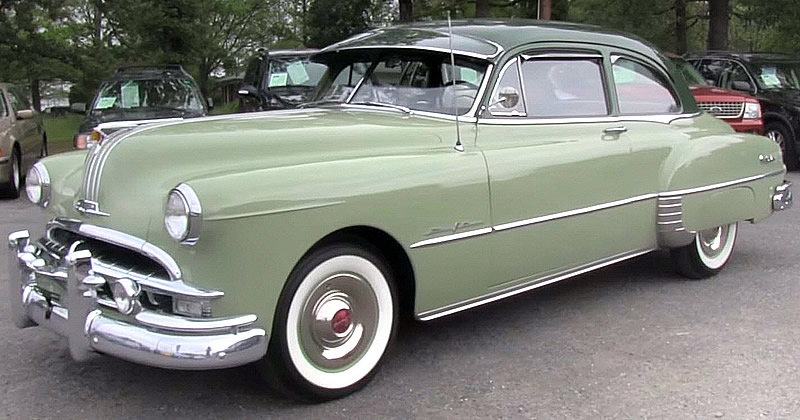 1949 Pontiac Chieftain Deluxe 8