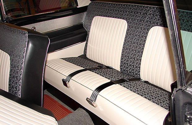 56 Custom Royal Lancer - rear seat
