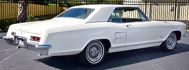 1963 Buick Riviera Sport Coupe - Rear view