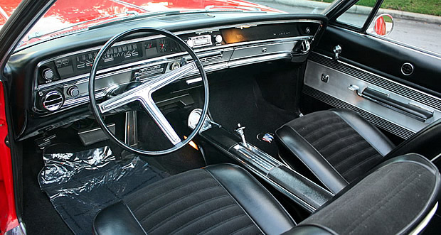 1967 Buick Wildcat Convertible Interior