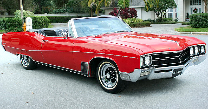 1967 Buick Wildcat Convertible - Apple Red - NICE!