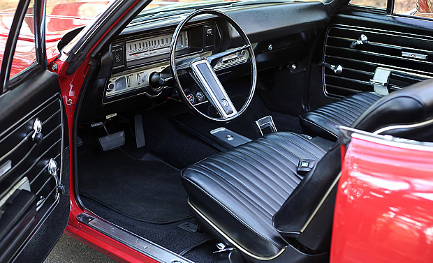 1968 Buick GS400 Conv Interior