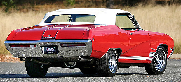1968 Buick GS 400 Convertible Rear View