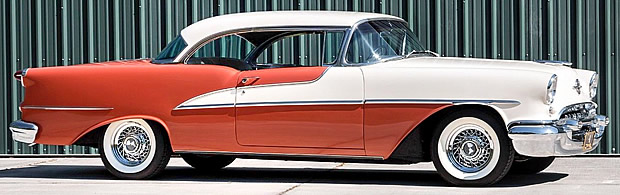 1955 Oldsmobile 98 Side View
