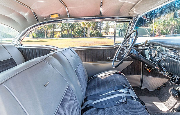 1955 Oldsmobile 98 Interior