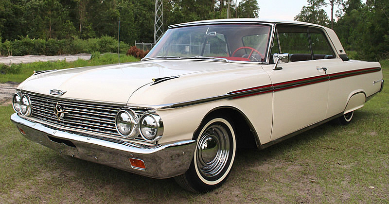 1962 Ford Galaxie 500 2 door Club Victoria