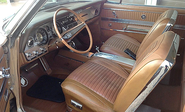 1963 Buick Wildcat Sport Coupe Interior