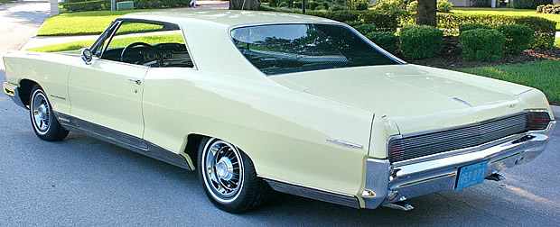 1965 Pontiac Grand Prix Rear