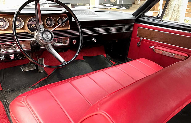 1966 Mercury Comet Caliente Convertible Interior