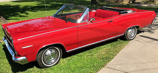1966 Mercury Caliente Convertible