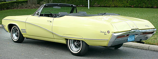 1968 Buick Skylark Convertible Rear View