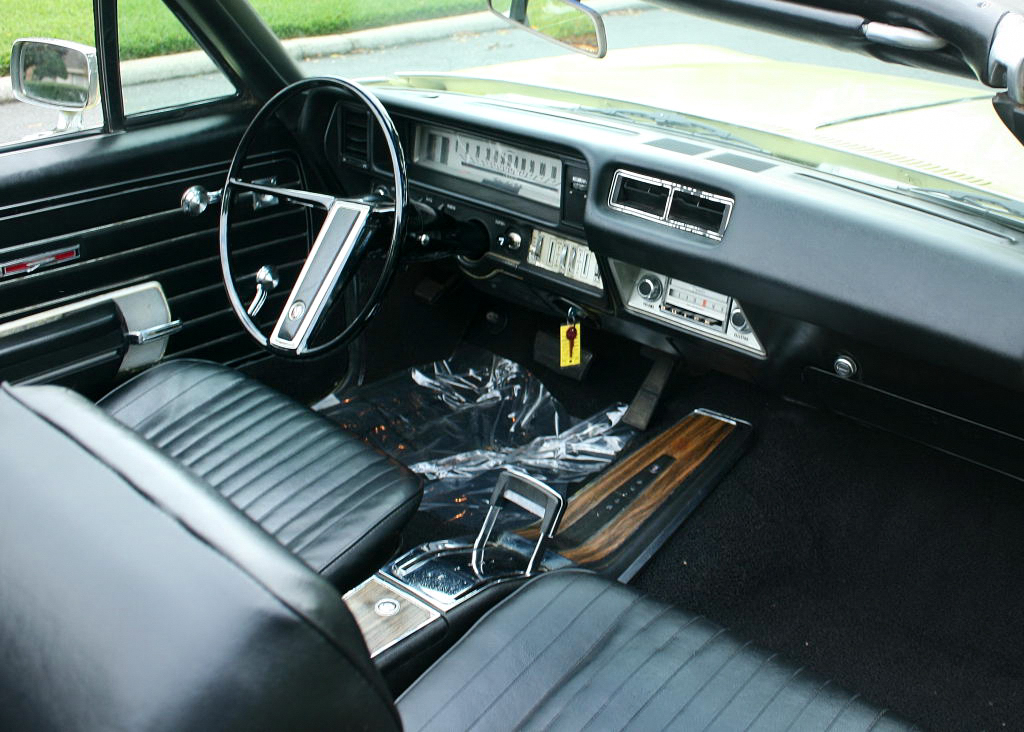 1968 Buick Skylark Custom Convertible Interior