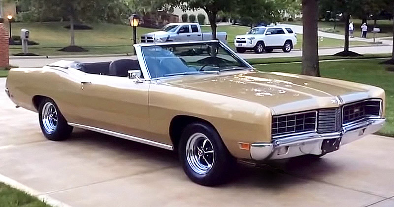 1970 Ford Galaxie XL Convertible
