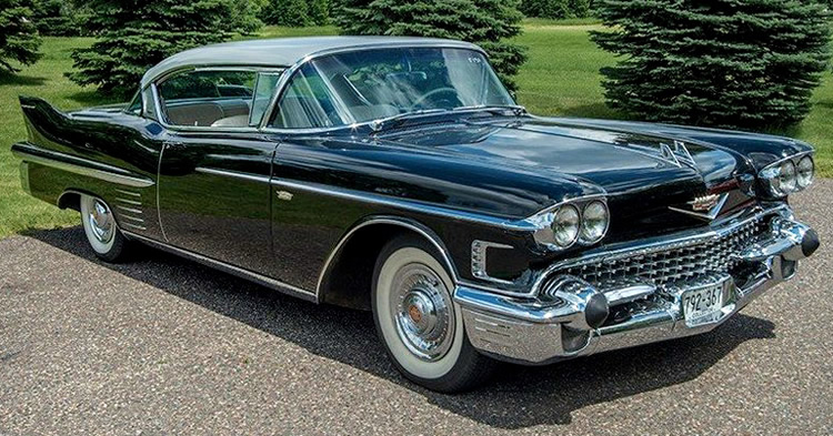1958 Cadillac Series 62 Coupe Deville - 36,400 ACTUAL MILES