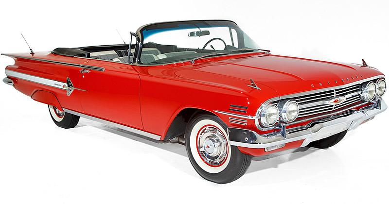 1960 Chevrolet Impala with Tri-Power