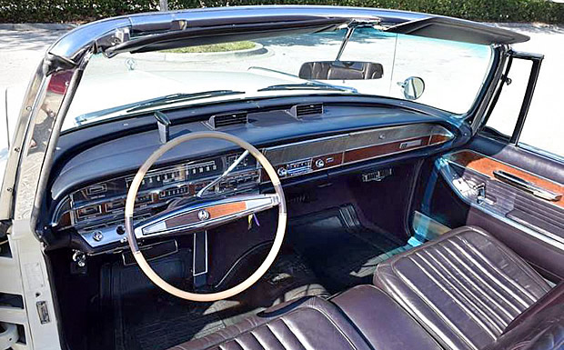 1965 Imperial Crown Convertible - Interior