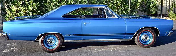 1968 Plymouth GTX side view