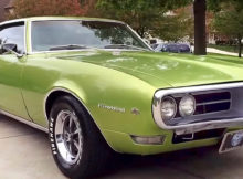 1968 Pontiac Firebird 350 V8