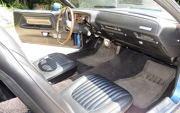 1971 Dodge Challenger Convertible Interior