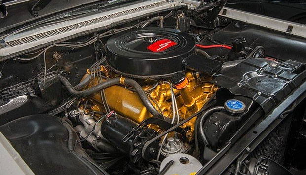 1960 Oldsmobile 371 V8 Rocket engine
