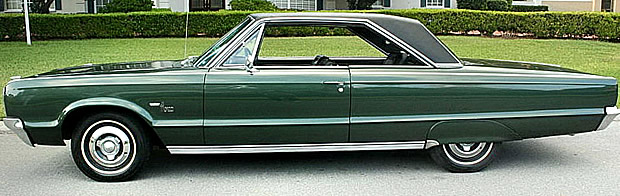 1965 Dodge Monaco - side view