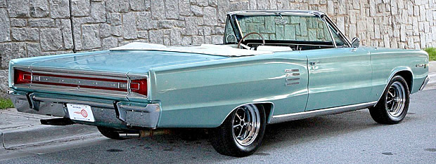 1966 Dodge Coronet 500 Convertible With 361 V8 And Torqueflite