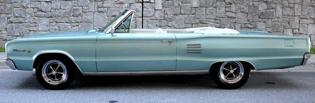 1966 Dodge Coronet Convertible - side view