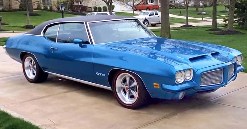 1971 Pontiac Gto 455 Cubic Inch V8 Engine Video Walkaround