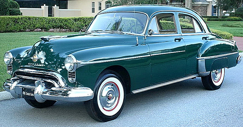 1950 Oldsmobile Eighty Eight Ivy Green Metallic With